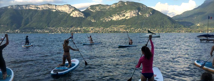 paddle annecy sortie lac NCY SUP CENTER 1