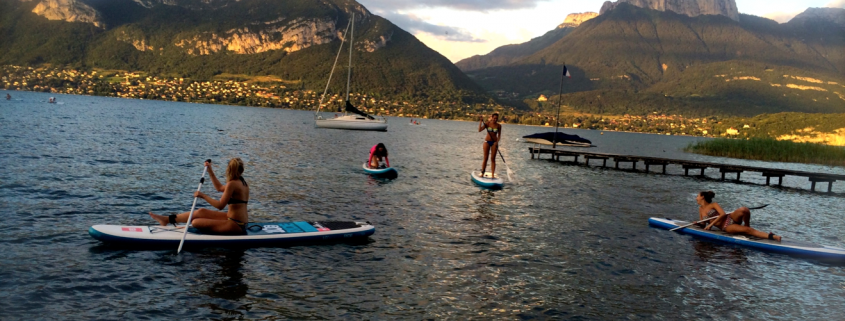 paddle annecy sortie lac NCY SUP CENTER 15