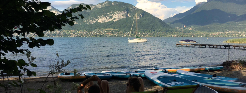 paddle annecy sortie lac NCY SUP CENTER 5